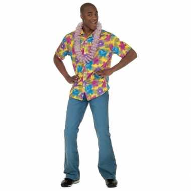 Gele hawaii kleding volwassenen